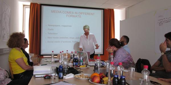 Workshop in Ljubljana